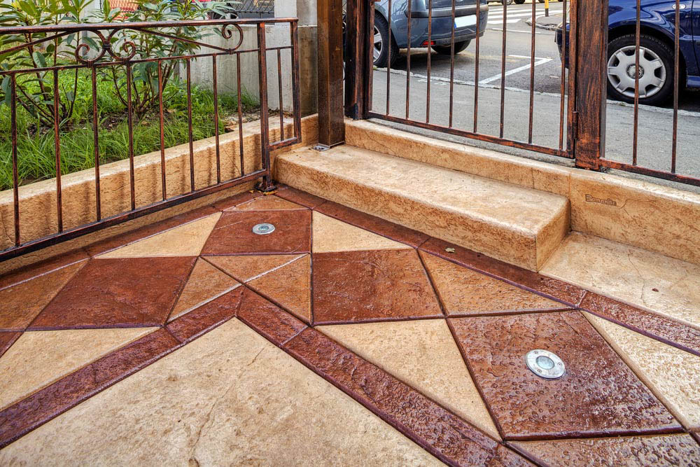 Katy Stamped Concrete Contractors​