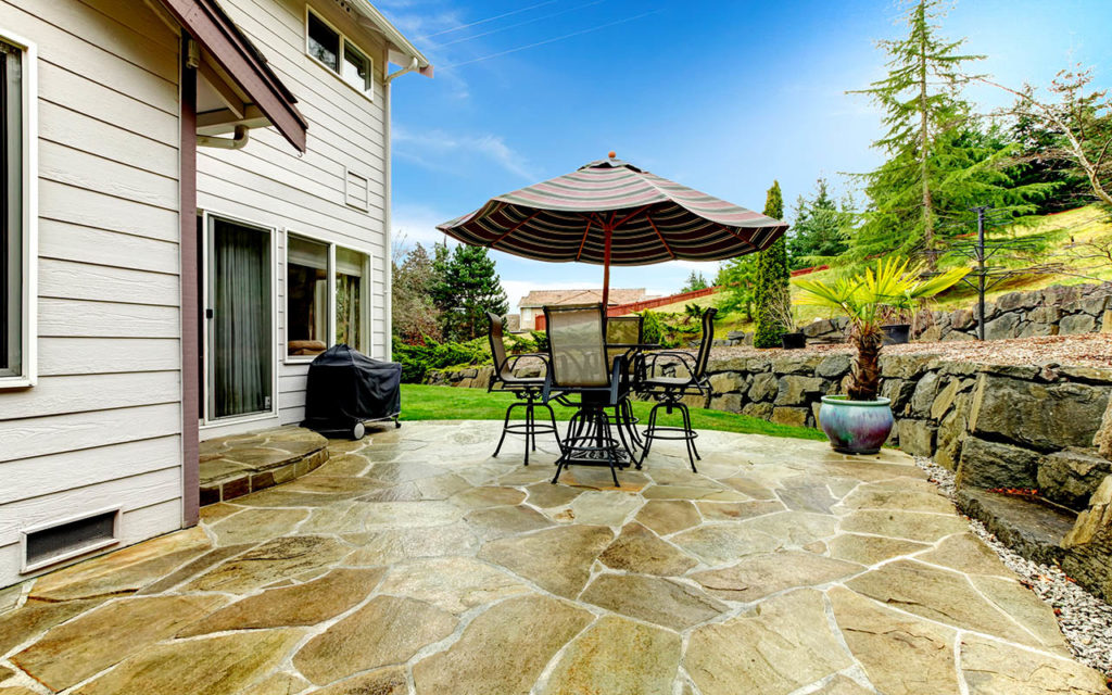 Katy Stamped Concrete Patio​